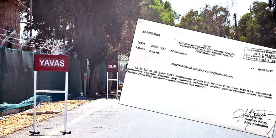 Mağusa Belediyesi, askeri belgeye mesnetsiz dedi