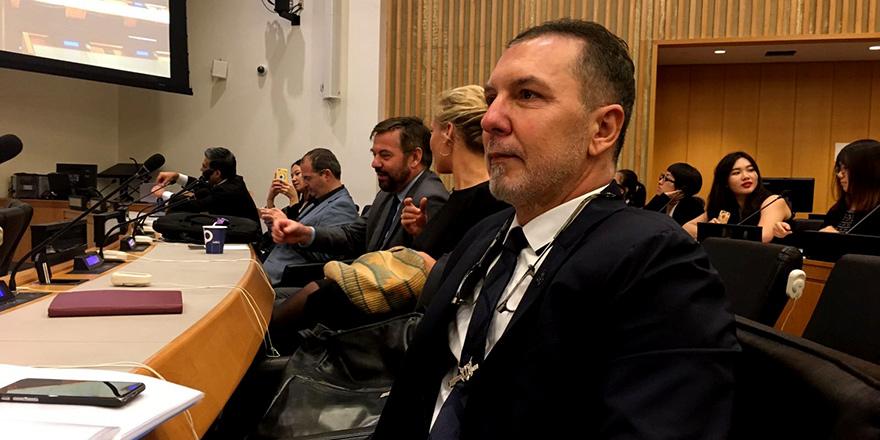 Akpınar, BM Genel Kurul toplantısına katıldı