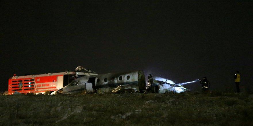 İstanbul'da özel jet kazası