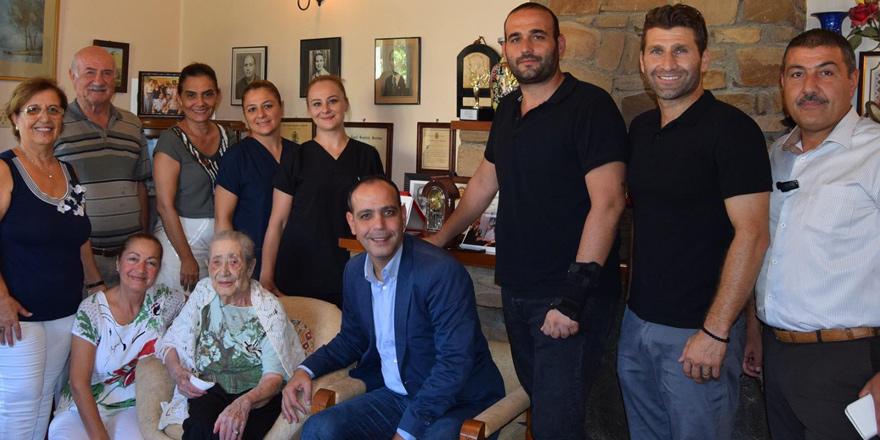 Türkan Aziz 100 yaşında