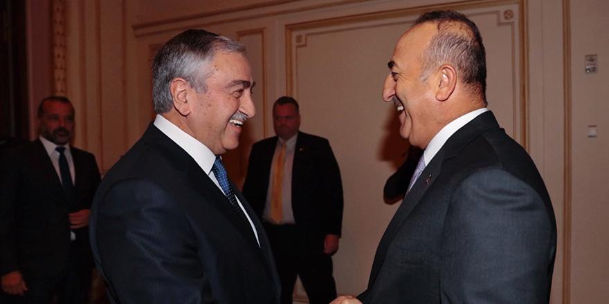 Mustafa Akıncı, Çavuşoğlu ile görüştü