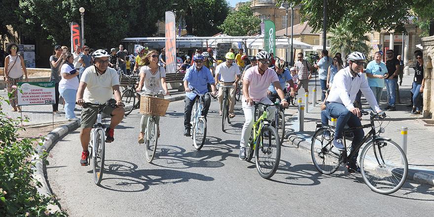 Hareketli yaşam ve alternatif kentsel ulaşım yollarına dikkat çekildi