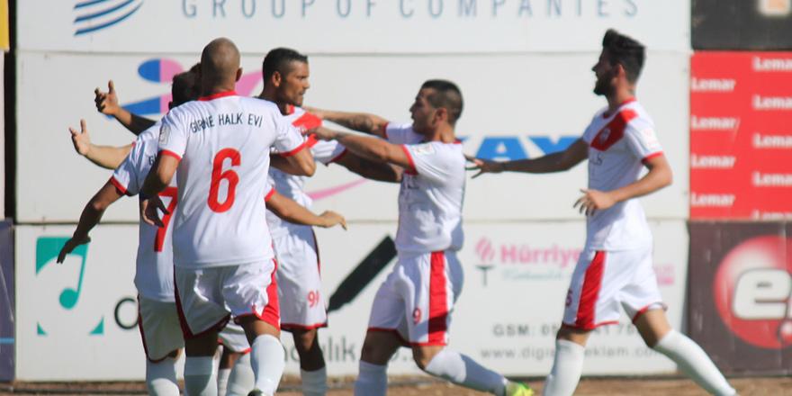 Girne Halk Evi 'hızlı' başladı: 1-0