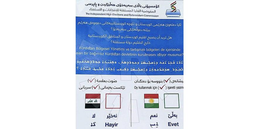Irak'ta referandum yapılıyor