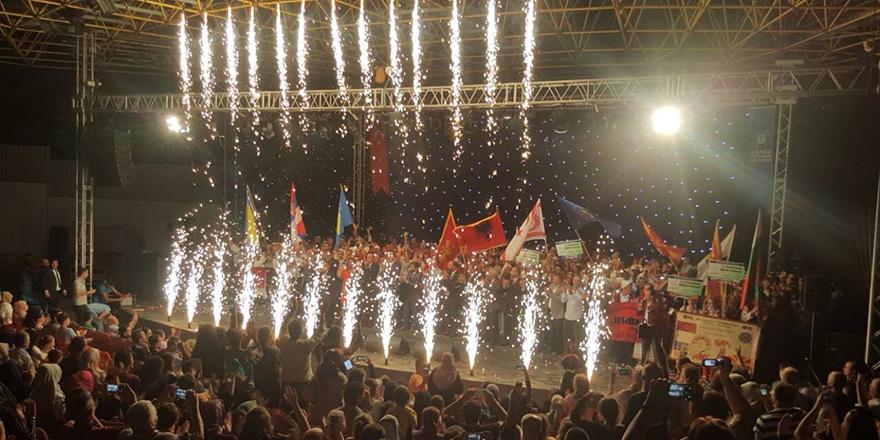 Paşaköy ve Vadili gençleri ülkemizi temsil etti