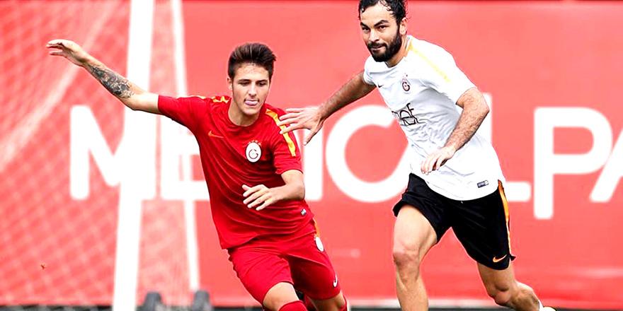 Sivri'den A takıma iki gol