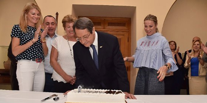 Anastasiadis 71. doğum gününü kutladı