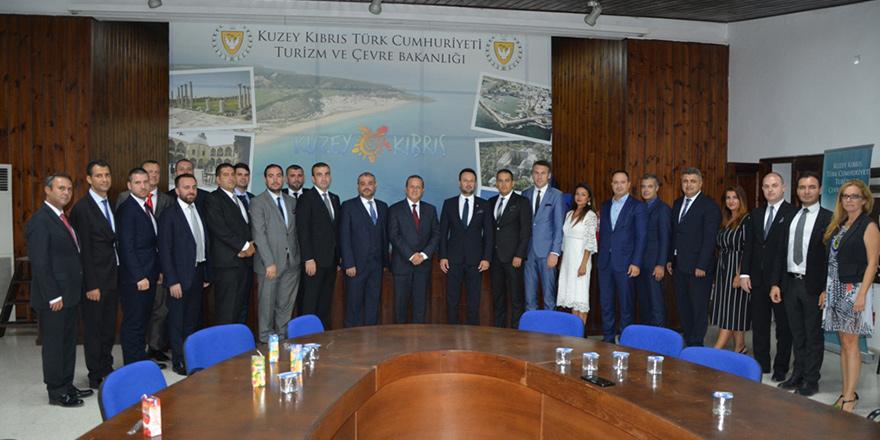Ataoğlu, Türkiye Genç İşadamları Derneği heyetini kabul etti