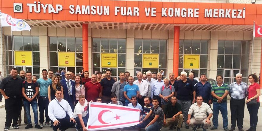 Kıbrıs Türk Çiftçiler Birliği, Samsun'da Tarım Fuarı'na katıldı