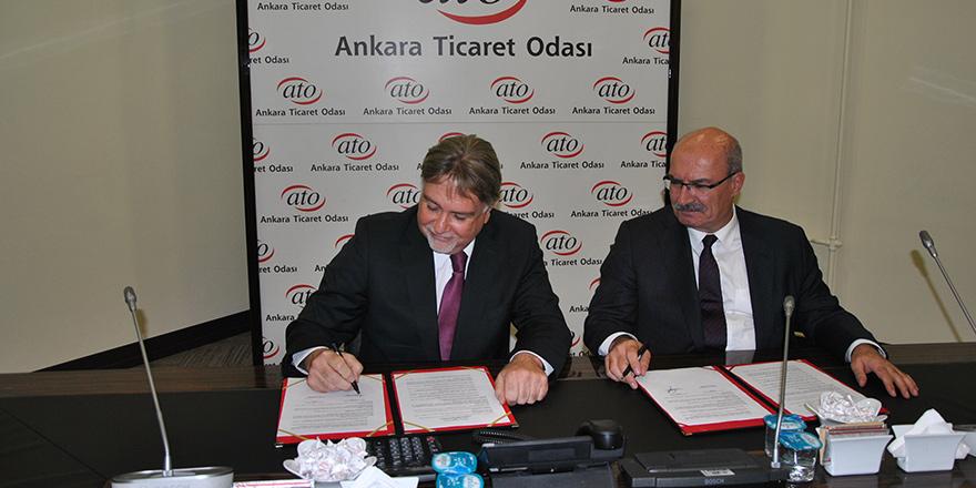 KTSO heyeti Ankara'da temaslarda bulundu