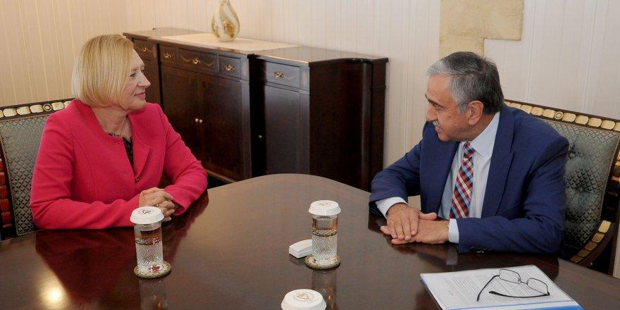 Akıncı, BM Genel Sekreteri'nin Kıbrıs Özel Temsilcisi Spehar'ı kabul etti