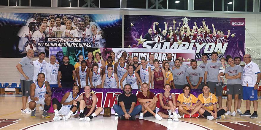 Ada'dan basketbolun yıldızları geçti
