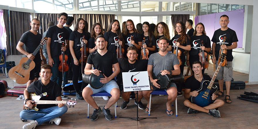 Genç Yetenekler Production Orkestrası Hırvatistan'da