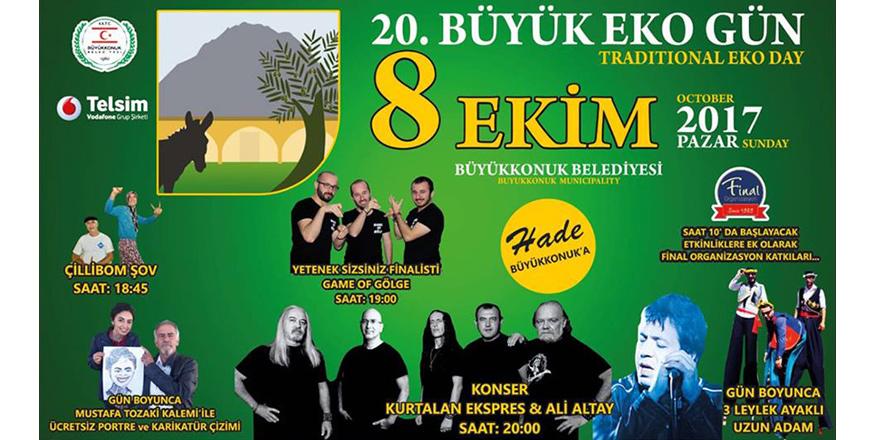 Büyükkonuk'ta geleneksel Eko Gün etkinliği yapılıyor