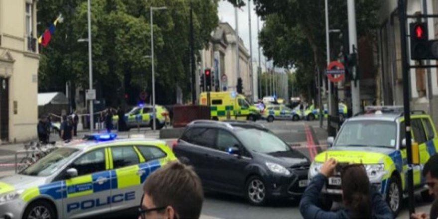 Terör saldırısı değil, trafik kazası!