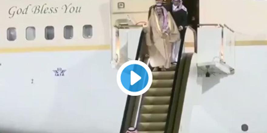 Suudi Arabistan kralı 'mecburen yürüdü'
