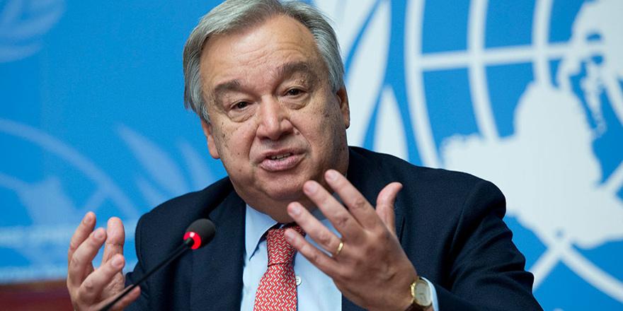 """""""Guterres isteksiz"""" iddiası"""