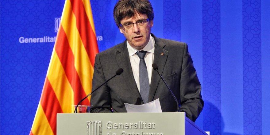 """Katalonya Başkanı: """"Bağımsızlık sürecini askıya almalıyız"""""""