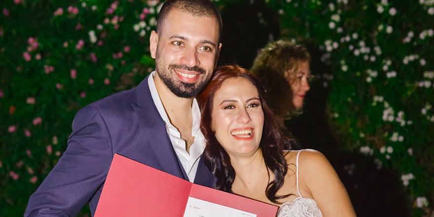 Burçin ile Nida'yı evlendirdik