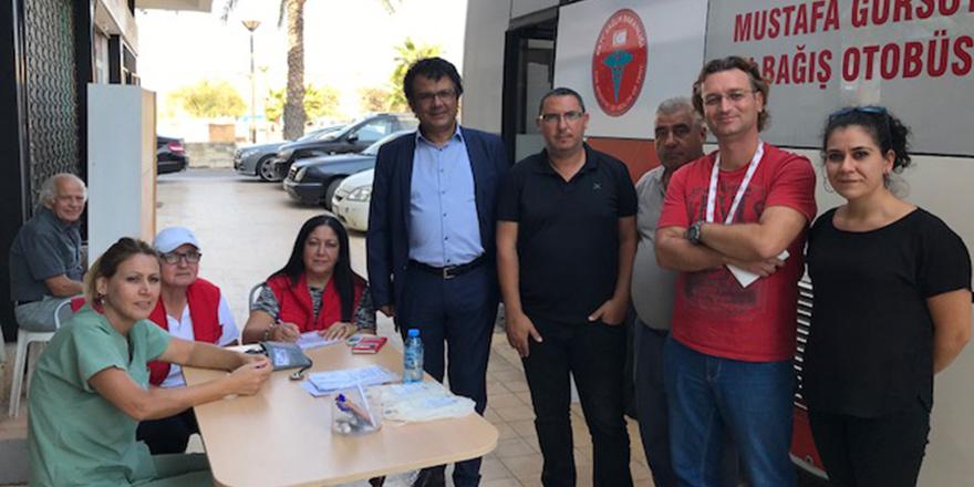CTP'den Mağusa'da kan bağışı