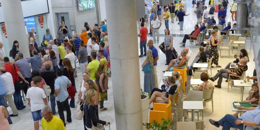 Güneye 8 ayda 2.7 milyon turist
