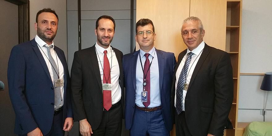 Meclis heyeti, Brüksel'de temaslarda bulundu