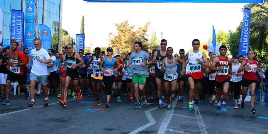 Lefkoşa Maratonu'na kayıtlar başlıyor