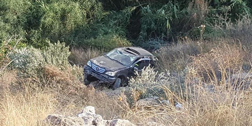 Ciklos mevkiinde kaza: 2 hafif yaralı