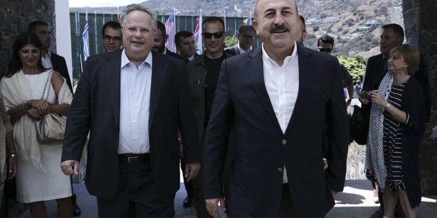 """Çavuşoğlu: """"Çözüm herkesin yararına ..."""""""