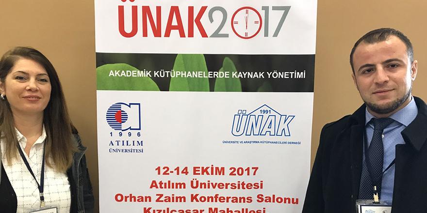 UFÜ, ÜNAK 2017'de temsil edildi