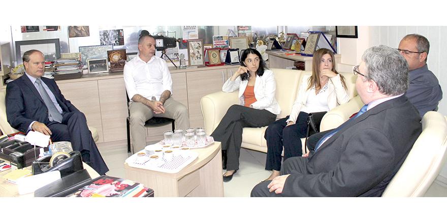 Fransız Büyükelçi Rene Troccaz, United Medya'da