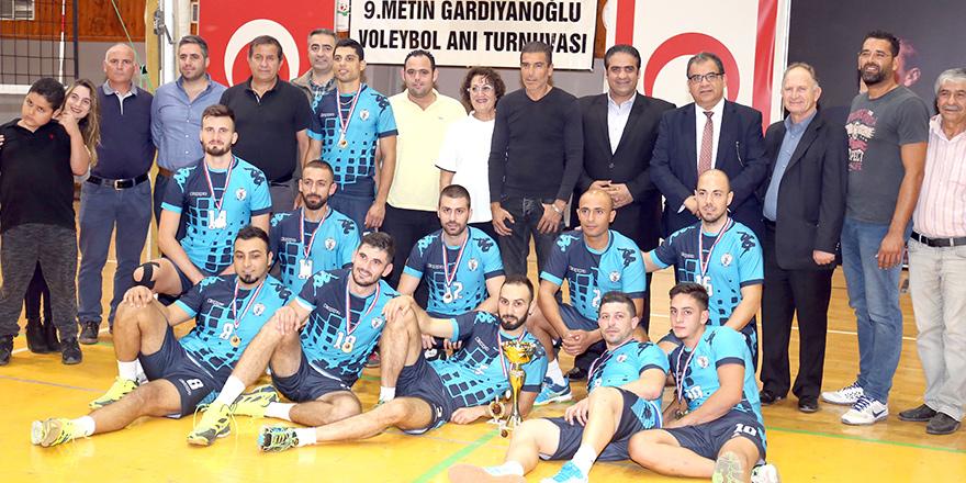 Gardiyanoğlu turnuvası Çamlık'ın