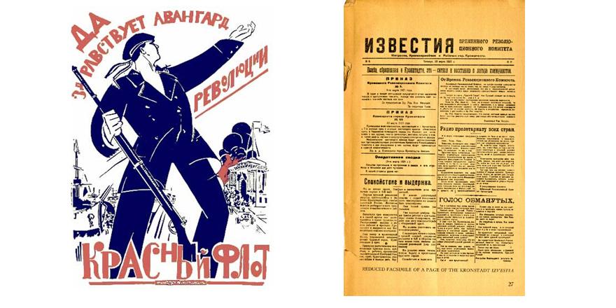 Kronstadt 1921  BÜTÜN İKTİDAR SOVYETLERE, PARTİLERE DEĞİL