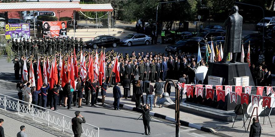 Mustafa Kemal Atatürk özlemle anıldı...