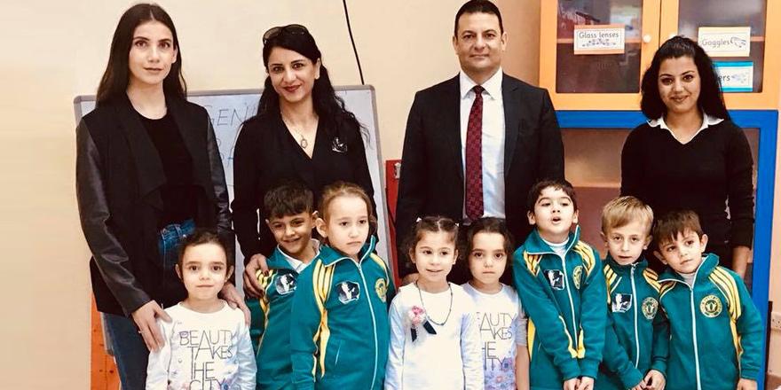 Okulsuz kalan öğrenciler The American Nursery School'da