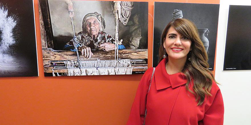 Fotoğrafçı Buket Özatay'a EFIAP/S unvanı