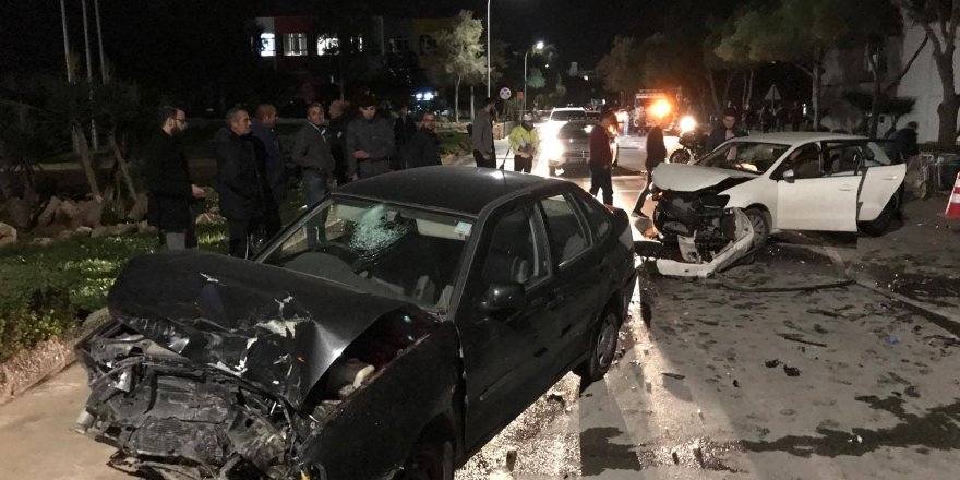 Mağusa'da kaza: 2 yaralı