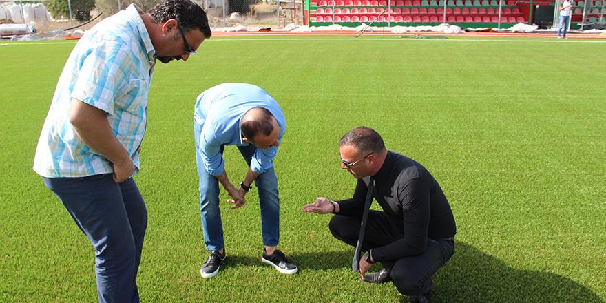 Eray Vudalı Stadı kapılarını açıyor