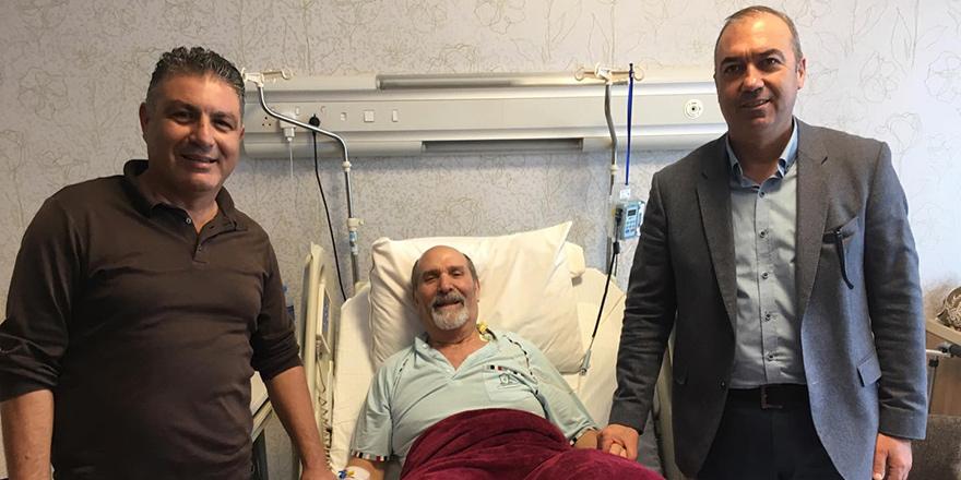 Sertoğlu ve Köseoğlu'ndan Okutan'a ziyaret