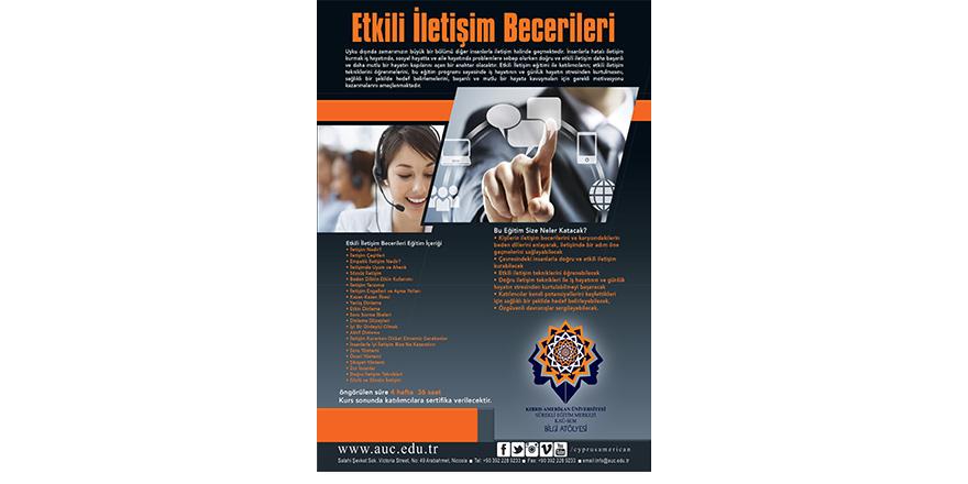 KAÜ-SEM'den etkili iletişim becerileri kursu