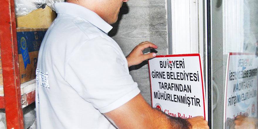 Girne'de sağlık denetimi yapıldı