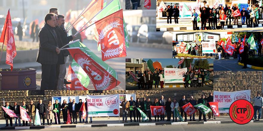 CTP sokakta: Biz halkız burada biz varız!