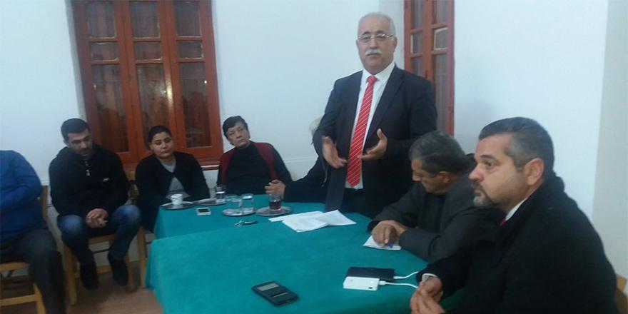 BKP-TKP Yeni Güçler halkla sohbet toplantısı gerçekleştirdi