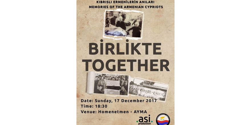 'Birlikte' isimli belgesel Kıbrıs'ın güneyinde gösterilecek