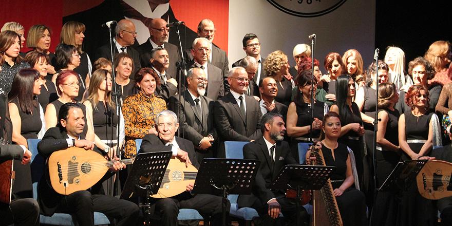 Girne Belediyesi Türk Sanat Müziği Topluluğu, Ankara'da konser verdi