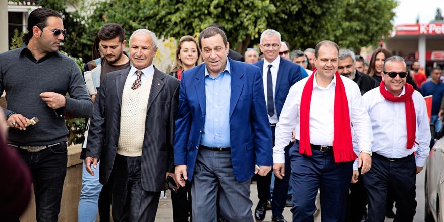 DP adayları Güzelyurt ve Lefke'deydi