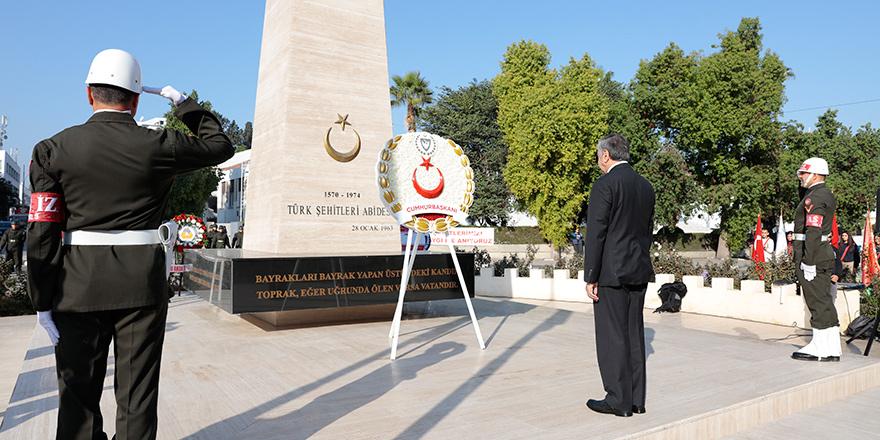 Şehitler Haftası dolayısıyla anma töreni düzenlendi