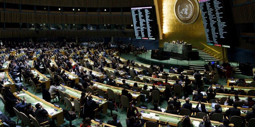 Kudüs tasarısı, ABD'ye rağmen BM Genel Kurulu'nda kabul edildi