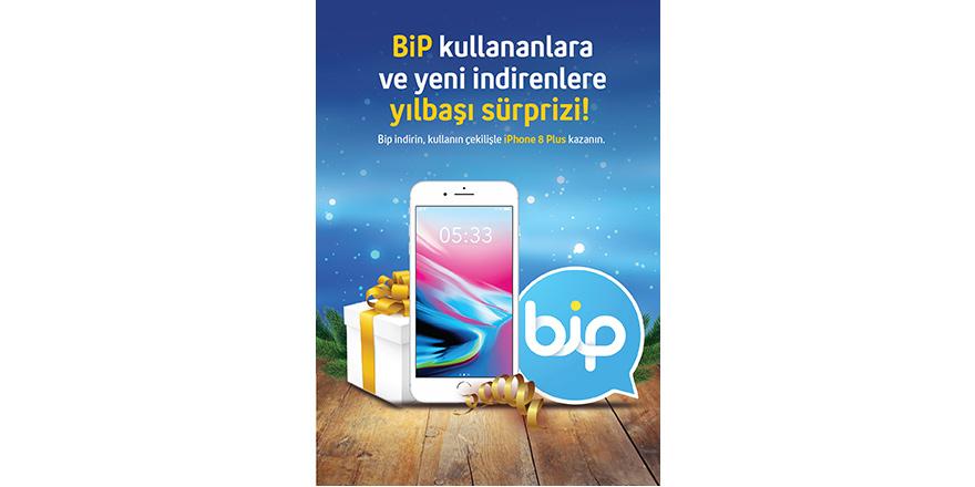 BiP'le iPhone 8 Plus kazanma şansı