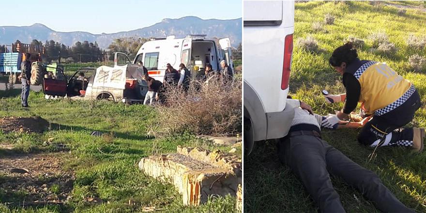 4 kişi hafif yaralandı